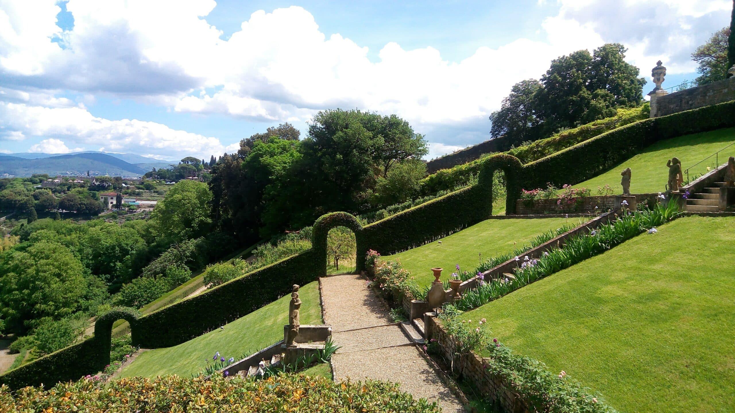 """La """"Greenway"""" de Florencia: visita guiada del jardín de Boboli y del jardín Bardini"""