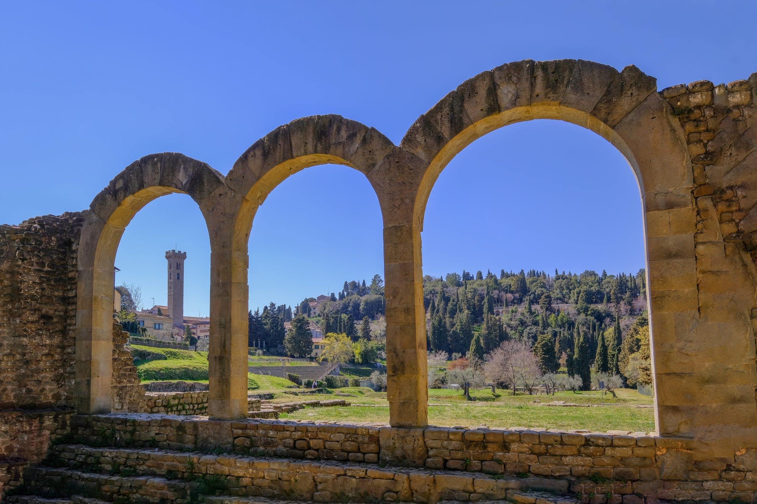 Fiesole y su Parque Arqueológico