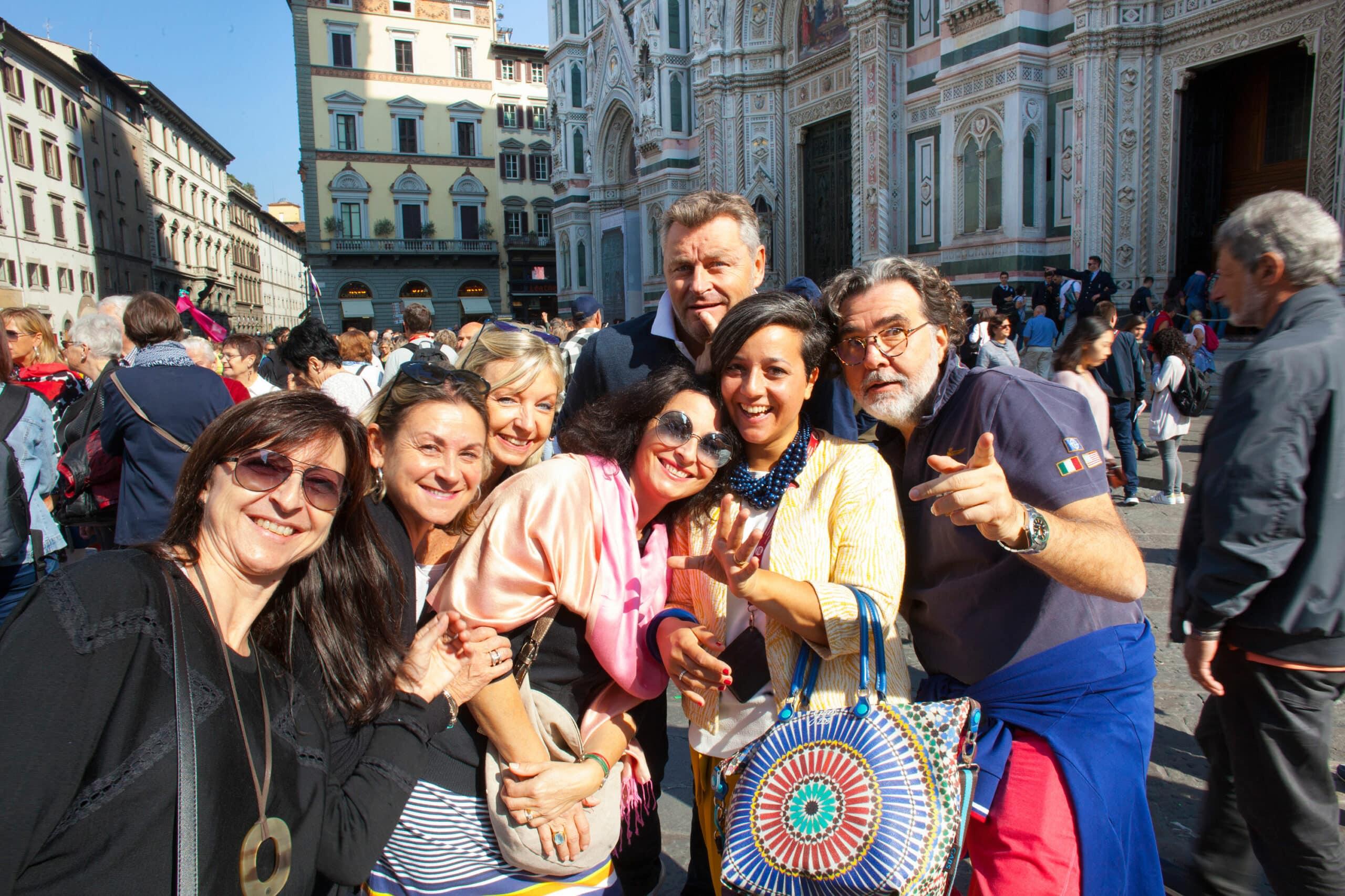 Mi profesión: Guía Turística en la ciudad de Florencia