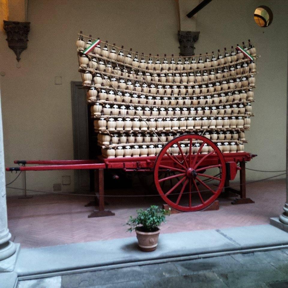L'arrivée du « Chariot Fou » à Florence